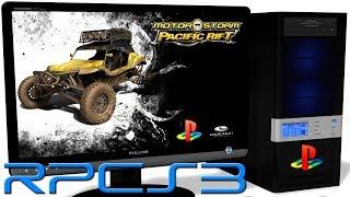 RPCS3 0.0.4 PS3 Emulator - MotorStorm: Pacific Rift (Ingame) LLVM Vulkan #2
