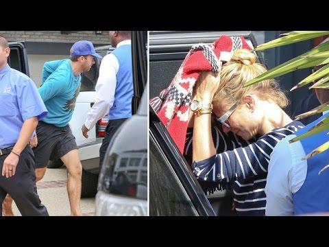 Gwyneth Paltrow And Chris Martin Together At Joel Silver's Malibu Beach Party