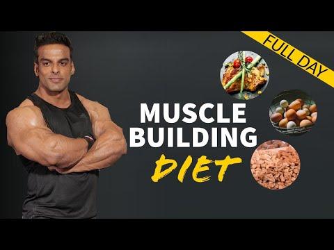 Full Day Muscle Building Diet   जानिये क्या खायें, मसल बनाने के लिये   Yatinder Singh