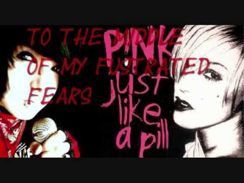 P!nk  Just like a Pill male version with Lyrics