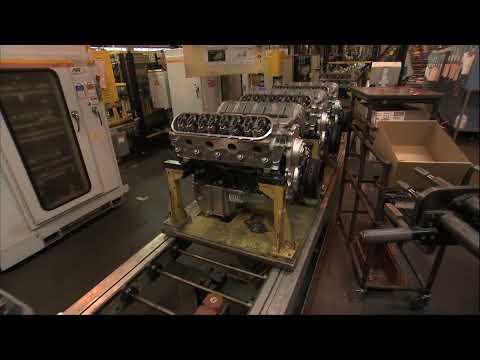 GM Romulus Manufacturing Plant
