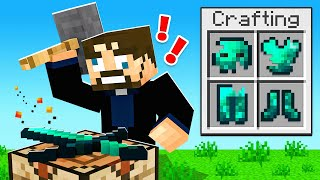 Crafting GLITCH ARMOR in Minecraft Sky Factory