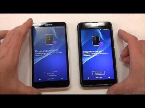 Sony Xperia E4 и Xperia E4g - распаковка, предварительный обзор