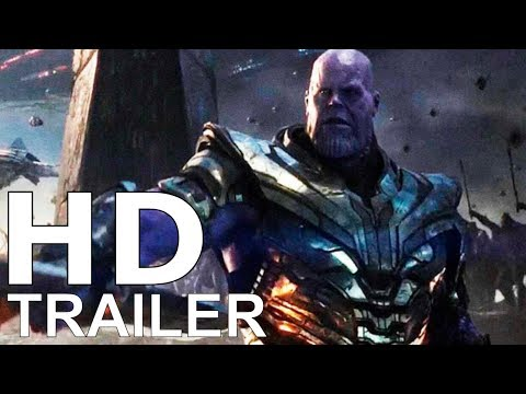 "AVENGERS 4 (2019) ""The End Game"" Teaser Trailer – Josh Brolin, Brie Larson Film (CONCEPT)"