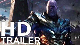 """AVENGERS 4 (2019) """"The End Game"""" Teaser Trailer - Josh Brolin, Brie Larson Film (CONCEPT)"""