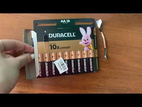 Лужні батарейки Duracell AA (LR06) MN1500 18 шт (5000394107519)