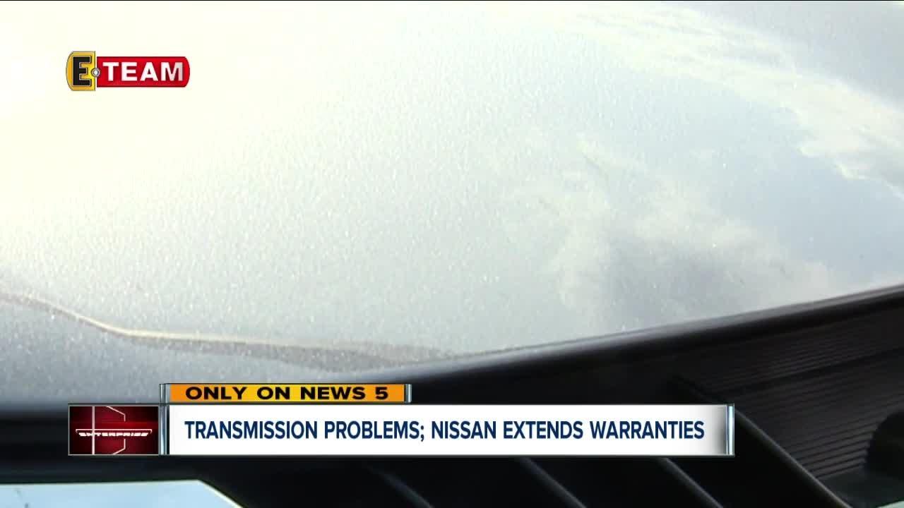 2010 nissan maxima transmission warranty