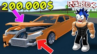 РАЗБИЛ МАШИНУ за 200.000   Roblox