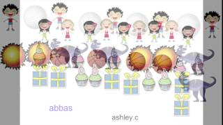 Kinder Orange Group - Patterns in ABCYa Paint!