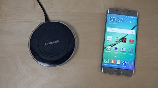 Samsung Galaxy S6 Wireless Charger - Review 4K