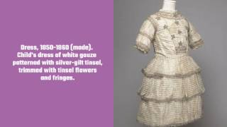 Childrens Clothing from the Victoria and Albert Museum