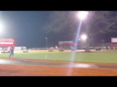 Chase Moore Swainsboro Raceway kart track too many cautions