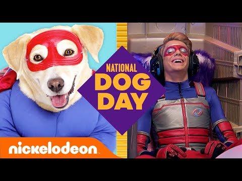 Dogs Of Nickelodeon Trivia Game 🐶 Ft. Henry Danger, SpongeBob & More! | National Dog Day