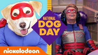 Dogs of Nickelodeon Trivia Game 🐶 ft. Henry Danger, SpongeBob & More! | National Dog Day