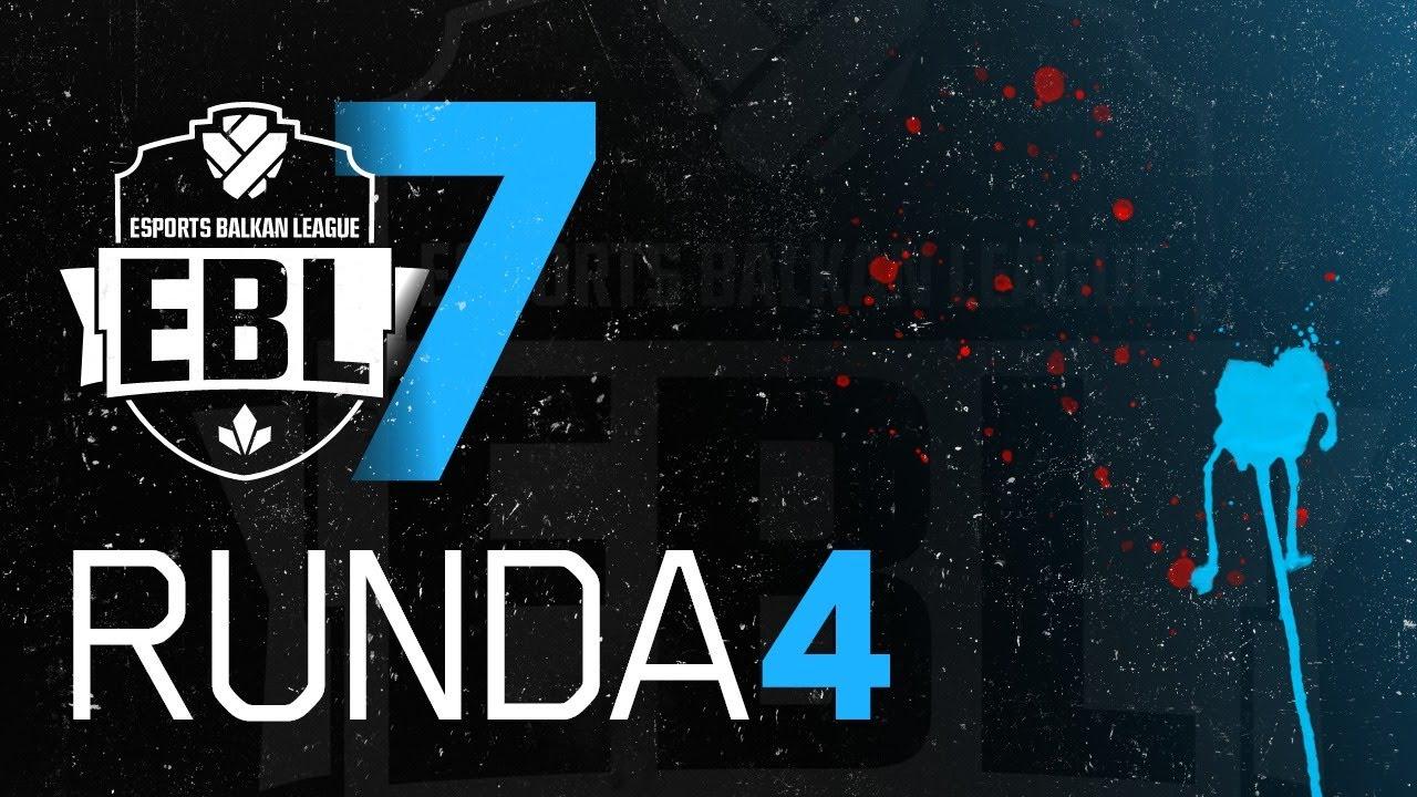 EBL Sezona 7 - Crvena Zvezda vs Split Raiders Runda 4 w/ Sa1na, Mićko, Gliša i Minja