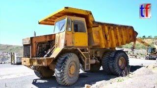KAELBLE KV 25 E Old Dump Truck Walkaround, German Quarry, 2016.