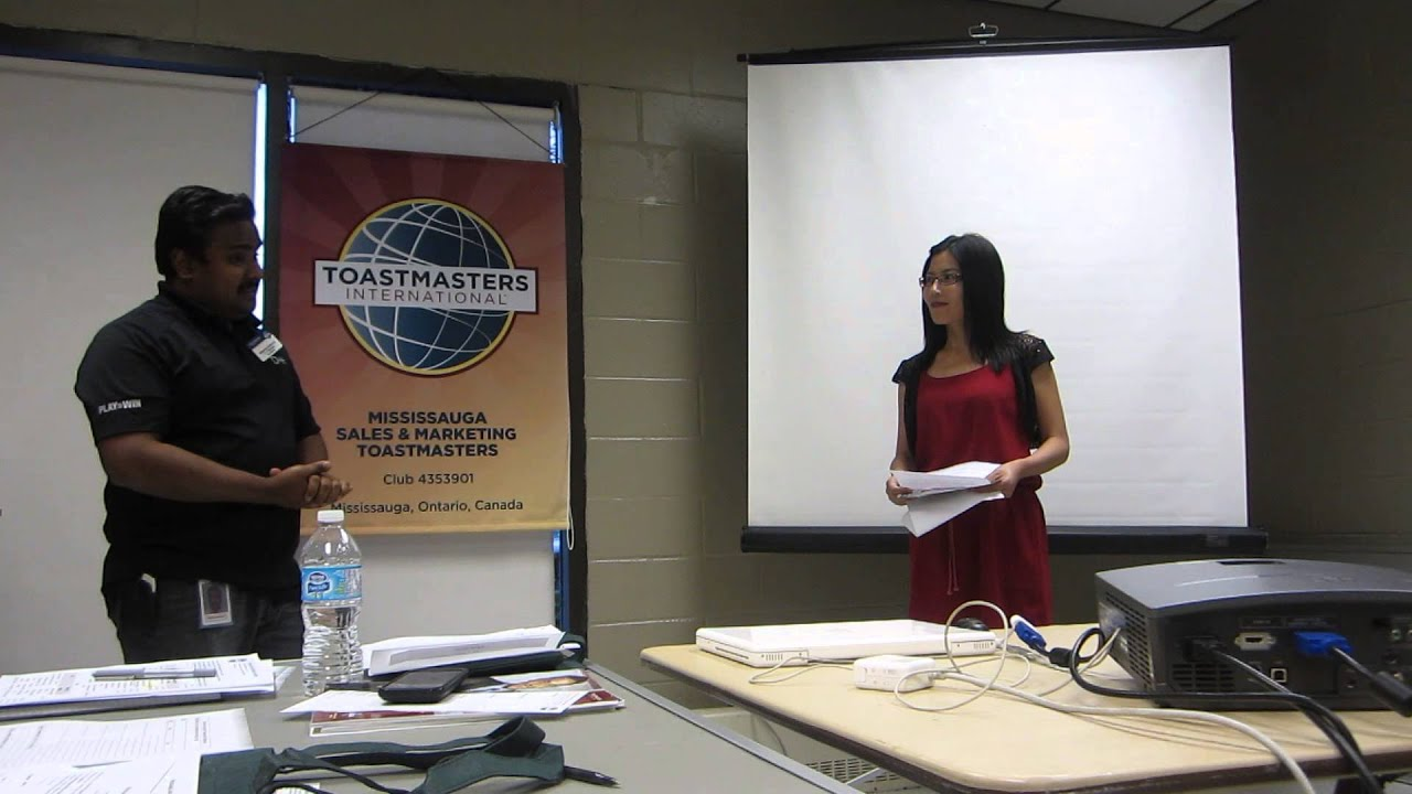 Table Topics Master Introduction First Speech Aug 07 2015