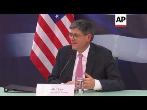 US Treasury Secretary visits Greece