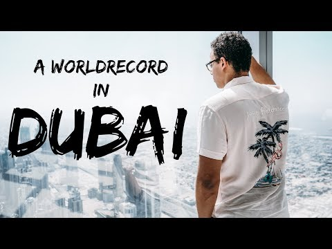 EEN WERELDRECORD IN DUBAI (Burj Khalifa & Dubai Aquarium) -
