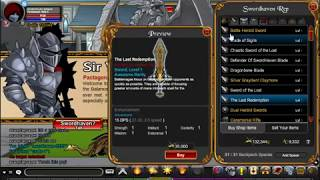 AQW:How to get The last redemption sword