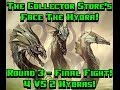 Magic the Gathering's Face The Hydra Round 3 Final Fight! 4 v 2 Game