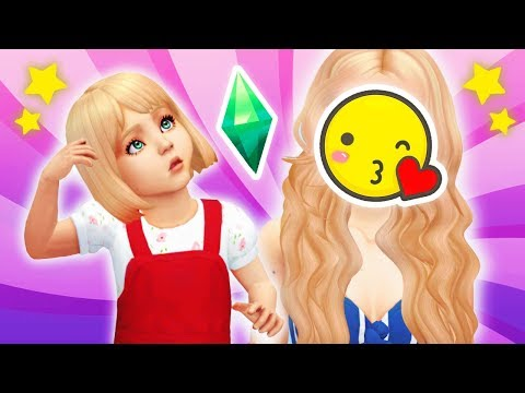 TODDLER TO ADULT CHALLENGE 👶🏼👱🏻♀️ // The Sims 4