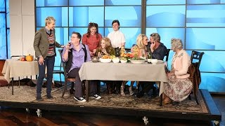 Download Ellen's Thanksgiving Seating Strategy Mp3 and Videos