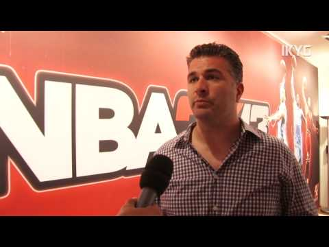 gamescom 2012 - NBA 2K13-Interview mit Chris Snyder