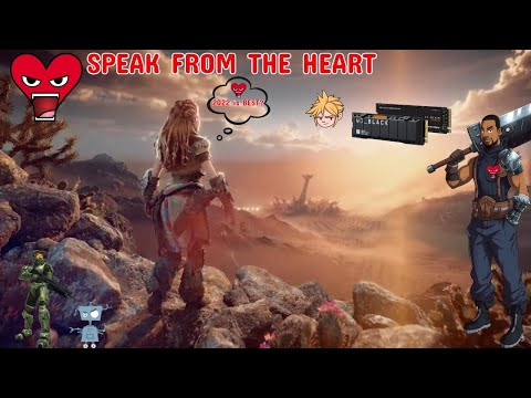 SPEAK FROM THE HEART #50 CATCHING UP WITH GAMING NEWS | HORIZON FORBIDDEN WEST DELAYED | BORED!!!