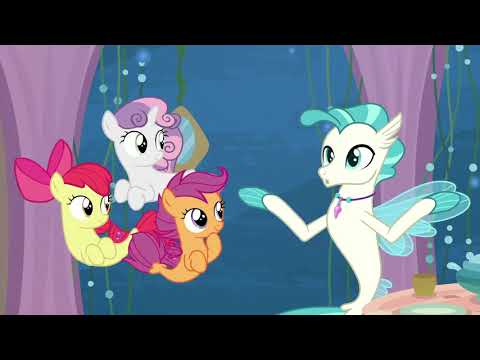 CMC & Twilight become seaponies - Surf and/or Turf