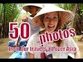50 Travel photos from our trip exploring all over Asia slideshow compilation