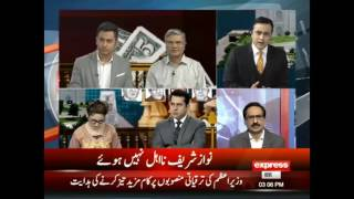 Extremely Hot Debate between Analysts after Panama Case Verdict | Express News