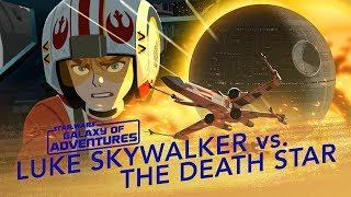Star Wars Kids - Galaxy of Adventures | Luke Skywalker vs. Dødsstjernen