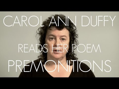 Carol Ann Duffy Reads Premonitions from The Bees