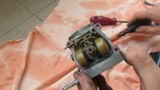 Babetta 210  - NÁVOD na údržbu karburátoru rozborka + sborka