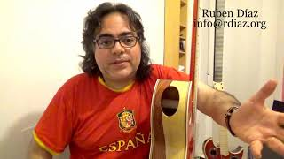 Powerful playing is with full focus attention/How to really follow Paco de Lucia 13/Skype Ruben Diaz