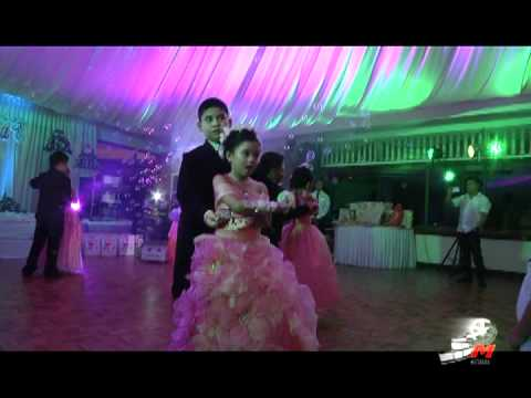 Tzelsea  Alyssa's Cotillion Dance(7th Debut-Themed Bday Party)