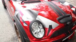 A.M. Wrapping Studio - Demo Promotion (Red Chrome Wrap plus Abstract Design)