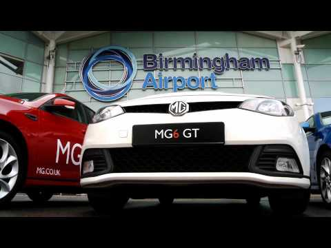 Birmingham Airport and MG Motor Launch Partnership