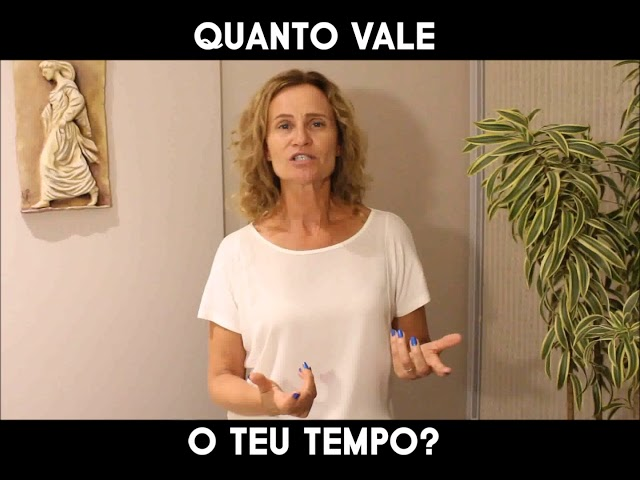 QUANTO VALE O TEU TEMPO? - Márcia Tolotti