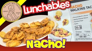 Lunchables Nacho Walking Taco Ground Beef Cheese & Salsa Kids Lunchroom Snack
