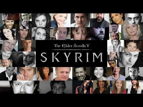 Vidéo Skyrim : Les voix françaises !
