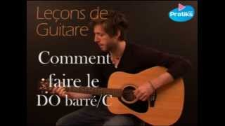 Tuto Guitare - Comment faire l'accord de DO / C Barré ?