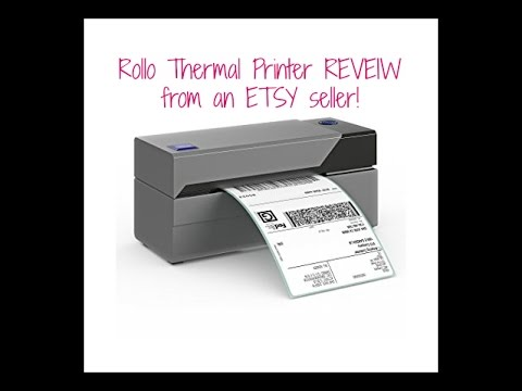 Rollo Thermal Shipping Label Printer Review Amp Unboxing