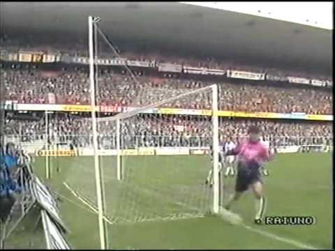 Sampdoria Napoli 2-1, serie A 1989-90