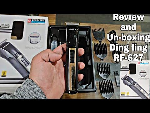 Dingling Rf-627 Best trimmer Review un-boxing