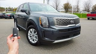 2020 KIA Telluride LX V6: Start Up, Walkaround, Test Drive and Review