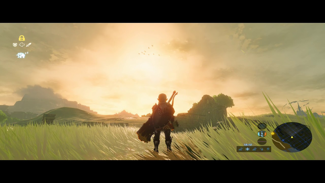 The Best Breath Of The Wild Landscape 4K Background