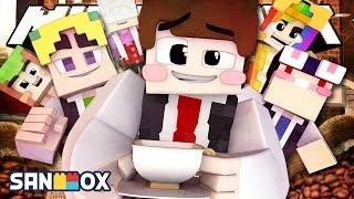 바리스타 도티와 핵진상 손님들...ㅠ [도티 바리스타가 되다: 마인크래프트 상황극] Minecraft - Roleplay - [도티]