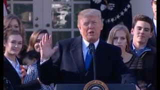 Trump Speaks To Pro-Life Supporters - Full Speech
